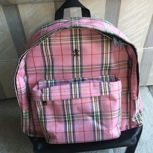 Opening Ceremony Pink Plaid Backpack 💖